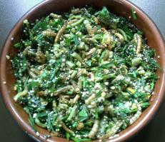 Salade pour le gouter des poussins