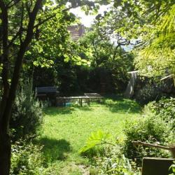 Vue du bas du jardin